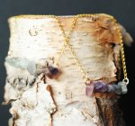 Amethyst Smooth Stone Swing $39